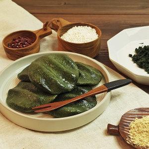 착한떡 제주해풍 쑥개떡 1kg + 1kg / 개별포장떡