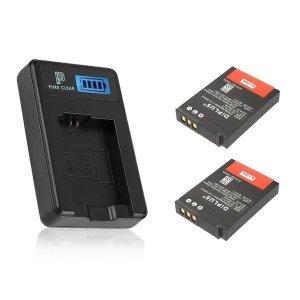 니콘 EN-EL12 1구 LCD 호환충전기1+호환배터리2