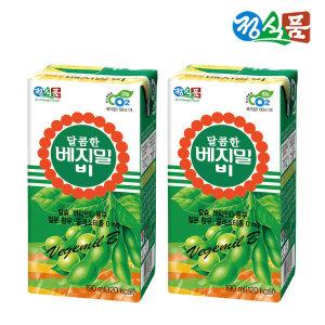 정식품 달콤한 베지밀B 190ml x 64팩