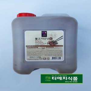 청정원 소불고기양념 10kg / 소불고기양념