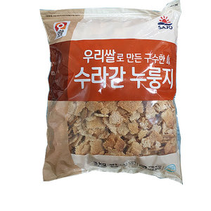 대용량/사조오양 수라간 누룽지3kg x 1봉