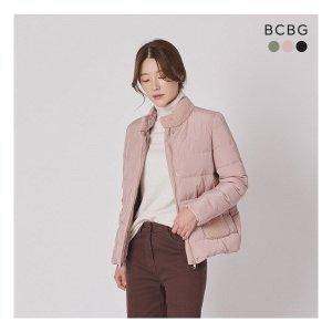 BCBG  니팅 포인트 구스다운
