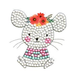 어린이 보석십자수 꽃쥐돌이 만들기재료