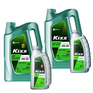 KIXX D1 C2 C3 5W30 5W40 6L 디젤엔진오일