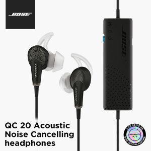 BOSE 정품 QC20 Android용 노이즈캔슬링 이어폰