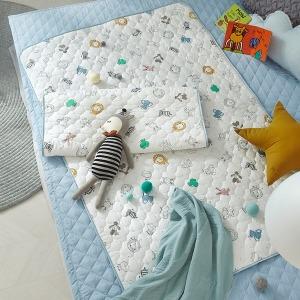 유아 방수패드 온가족용 낮잠이불 시어서커 순면