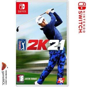 SWITCH PGA 투어 2K21 / PGA 골프 한글 일반판