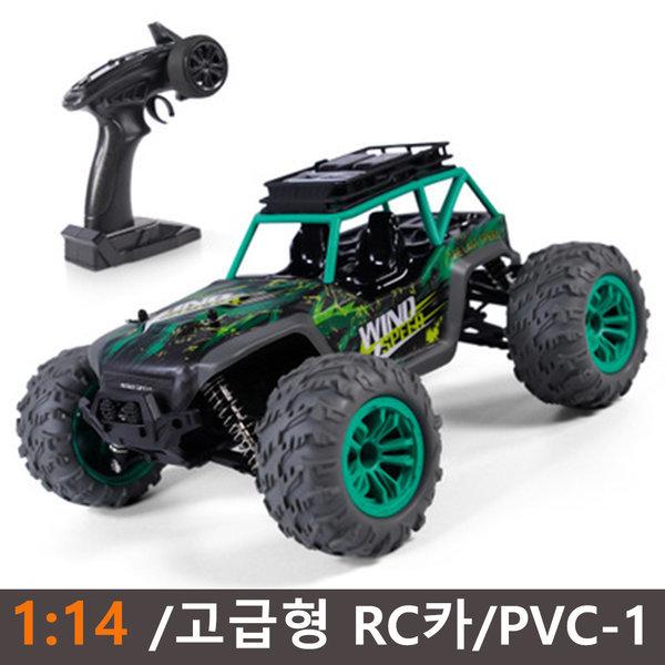 DeerMan 대형 오프로드 레이싱 충전식 RC카PVC-1/녹색
