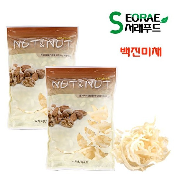 G-국내산 백진미채 500g+500g(1kg)