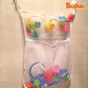 목욕용품 1+1 욕실정리함(그물망) 화이트