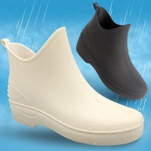 뽀송뽀송 숏 여성 레인부츠 장화 신발 비가 오는 날