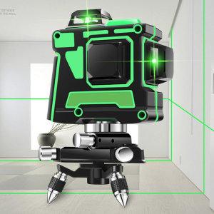 12선 3D 레이저 레벨기 그린레이저 Green Lase 수평기