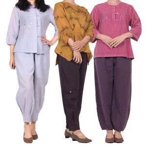 여름 여성 여자 생활 계량 개량 한복 법복 절복 승복