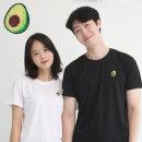 코오롱쿨론 기능성 반팔 빅사이즈 아보카도 쿨 티셔츠
