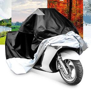 오토바이 방수커버 XXL/레인커버 덮개 자전거 바이크