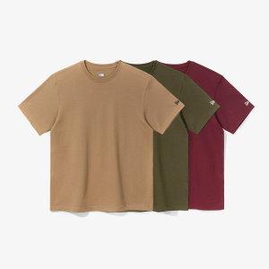 뉴에라 공용 에센셜 밀리터리 3팩 티셔츠 멀티 (12582653)