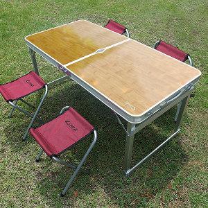 트랜스포머 테이블 캠핑 야외 접이식 캠핑 피크닉