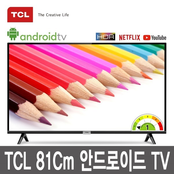 TCL 81Cm 안드로이드 TV 32S6500 /TCL북미판매1위달성