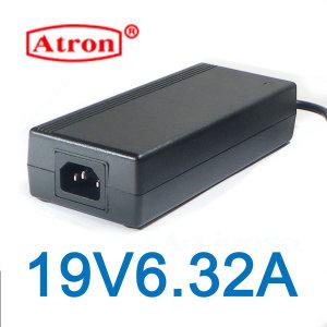 19V 아답터 19V6.32A 어댑터 고품질 해외인증제품