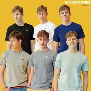 20SS  카카오프렌즈 기능성 티셔츠 6종  남성