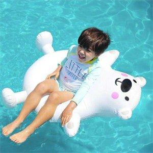 (현대Hmall) 보리보리/베이-비(BAY-B) 아동 곰돌이 튜브