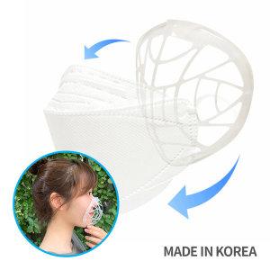 숨편한 마스크가드(3개입) 국산 위생적인 재사용필터