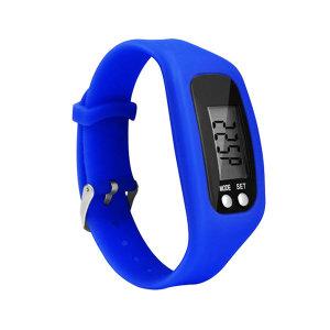 만보계 시계 거리 칼로리측정 스마트 만보기 블루
