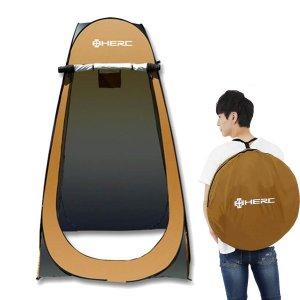 원터치 야외 간이 탈의실 샤워 텐트 캠핑용품