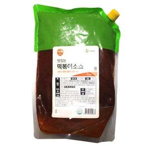 CJ 이츠웰 떡볶이소스 2KG/냉장포장/무료배송