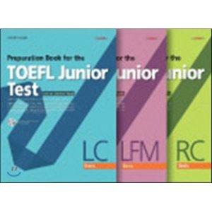 Preparation Book for the TOEFL Junior Test Basic Set (LC + LFM + RC)  편집부