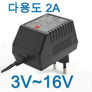 다용도아답터 3V~16V 만능아답터 멀티어댑터 모음