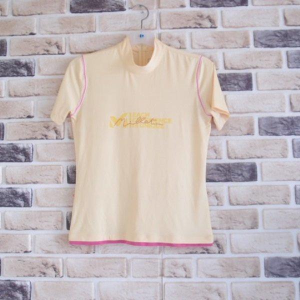 밀레 / 스판 저지 스팽클 로고 티셔츠/여성M(95)