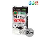 베지밀 뼈에좋은 칼슘 검은콩깨쌀 190ml 16팩 x4박스