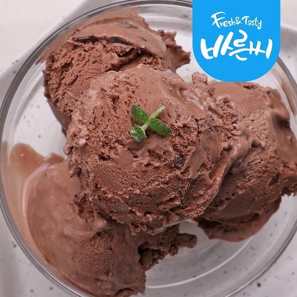 라벨리 아이스크림 프리미엄 4L 초코 대용량
