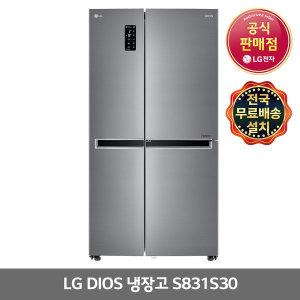 LG전자 디오스 S831S30 양문형냉장고 (주)삼정