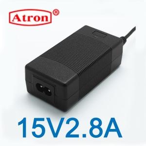 아답터15V2.8A 어댑터 아답타 충전기 해외인증제품