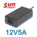 아답터12V5A 노트북 모니터 CCTV LED 어댑터 국내생산