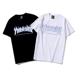 트레셔 불꽃 반팔티 ICE Thrasher flame T-shirt