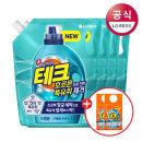 테크 특유취 액체세제 드럼리필 2Lx4 +300mlx2