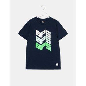공용 ACTIVE 웨이브 로고 티셔츠 (BO9542F011)