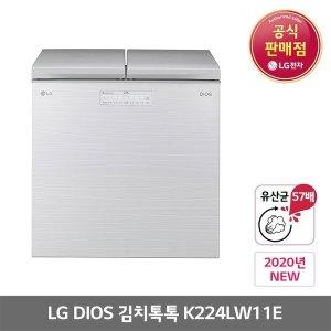 디오스LG 디오스 K224LW11E 뚜껑형 김치냉장고 219L