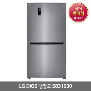 LG전자 양문형냉장고 821L(S831S30)
