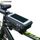 자전거 프레임 가방 핸드폰 거치백 거치대 하드형 ks36
