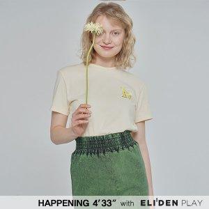 (해프닝x엘리든)(오마이걸 아린 착용) 20SS ELIDEN T-SHIRTS_8 COLOR (PBCOJ5TP001)