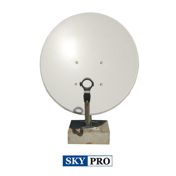 60cm Offset 싱글 위성방송수신 안테나/국내/해외방송