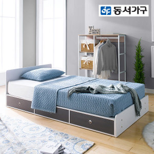 미휴 깊은서랍 1단 슈퍼싱글침대 프레임 DF636156