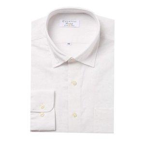 여름용 마혼방 솔리드 일반핏 긴소매 셔츠 CDCQ2B1154