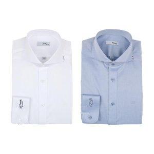 갤러리아  20년 F/W 신상품 듀퐁 긴소매 풀로고셔츠(슬림핏)SE0FM21LS302SWH BU 2