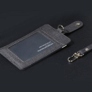 목걸이 학생증 교통 사원증 카드 지갑 블랙