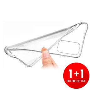 1+1 스마트폰 투명 젤리케이스 / 범퍼 케이스